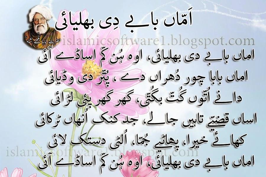 baba bulleh shah punjabi poetry 2