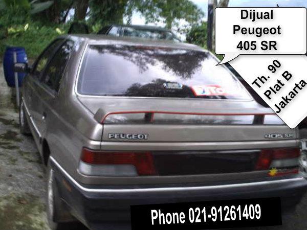 Jual Mobil Sedan Peugeot 405 SR Th.90