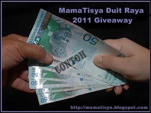 ::MamaTisya Duit Raya 2011 Giveaway::
