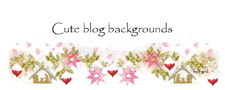 Cute blog backgrounds