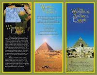 brochure about egypt