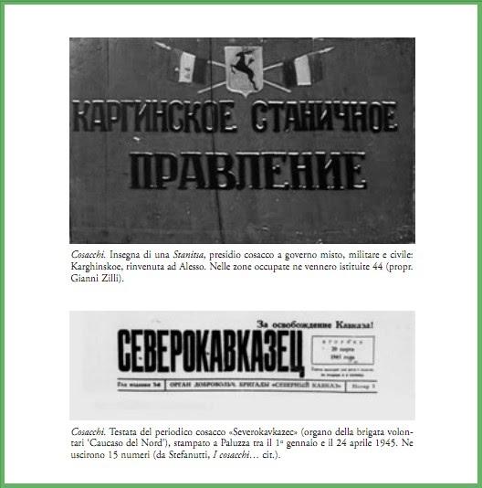 H Ngeregal K Che vicende di guerra tra carnia e gemonese i quot cosacchi che tornano in friuli quot nelle pagine di