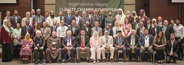 International Islamic Climate Change Symposium participants.