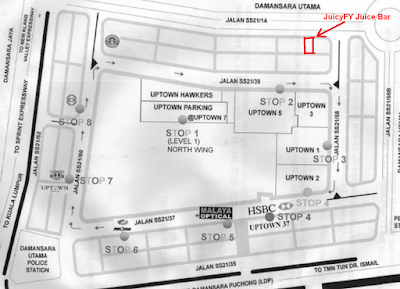 JuicyFY Juice Bar, Uptown Damansara