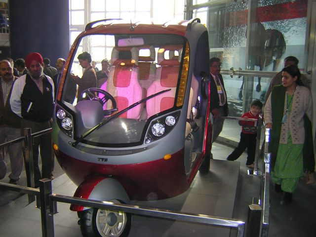 New Auto Rickshaw From Tvs New Auto And Cars