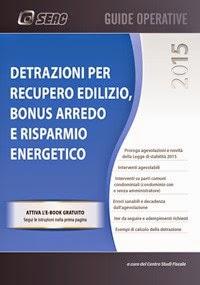 Lavoro news detrazioni per recupero edilizio bonus - Detrazioni fiscali per risparmio energetico 2015 ...