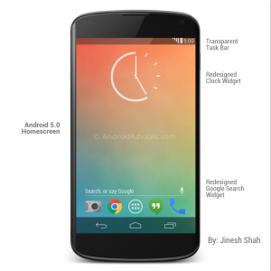 Android 5.0 KeyLime Pie Concept & Review_NewVijay