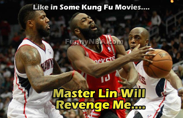 James harden needs help from master lin