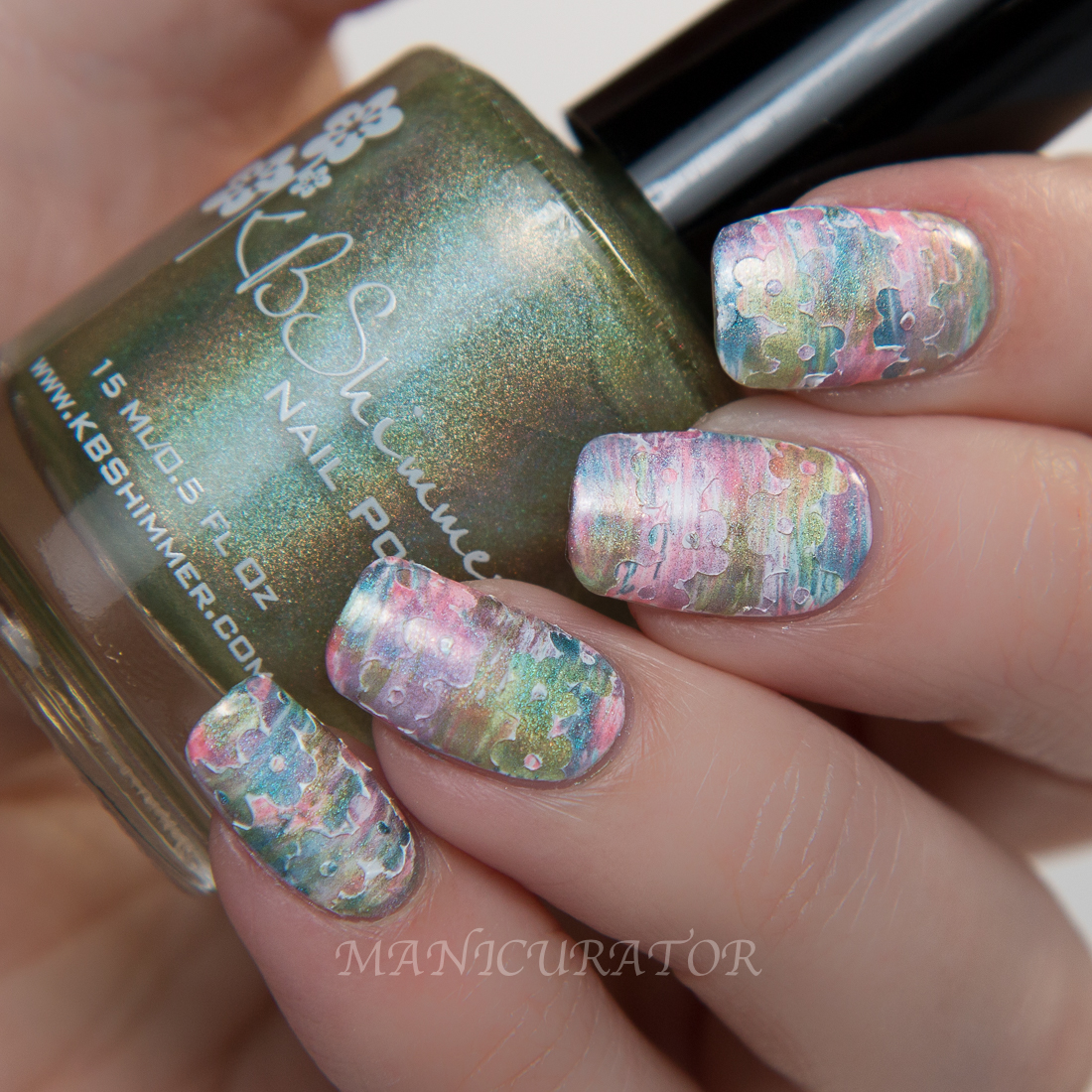 KBShimmer-Spring-Ins-and-Sprout-fan-brush-flower-nail-art