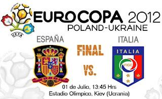 España vs Italia – Final Eurocopa 2012
