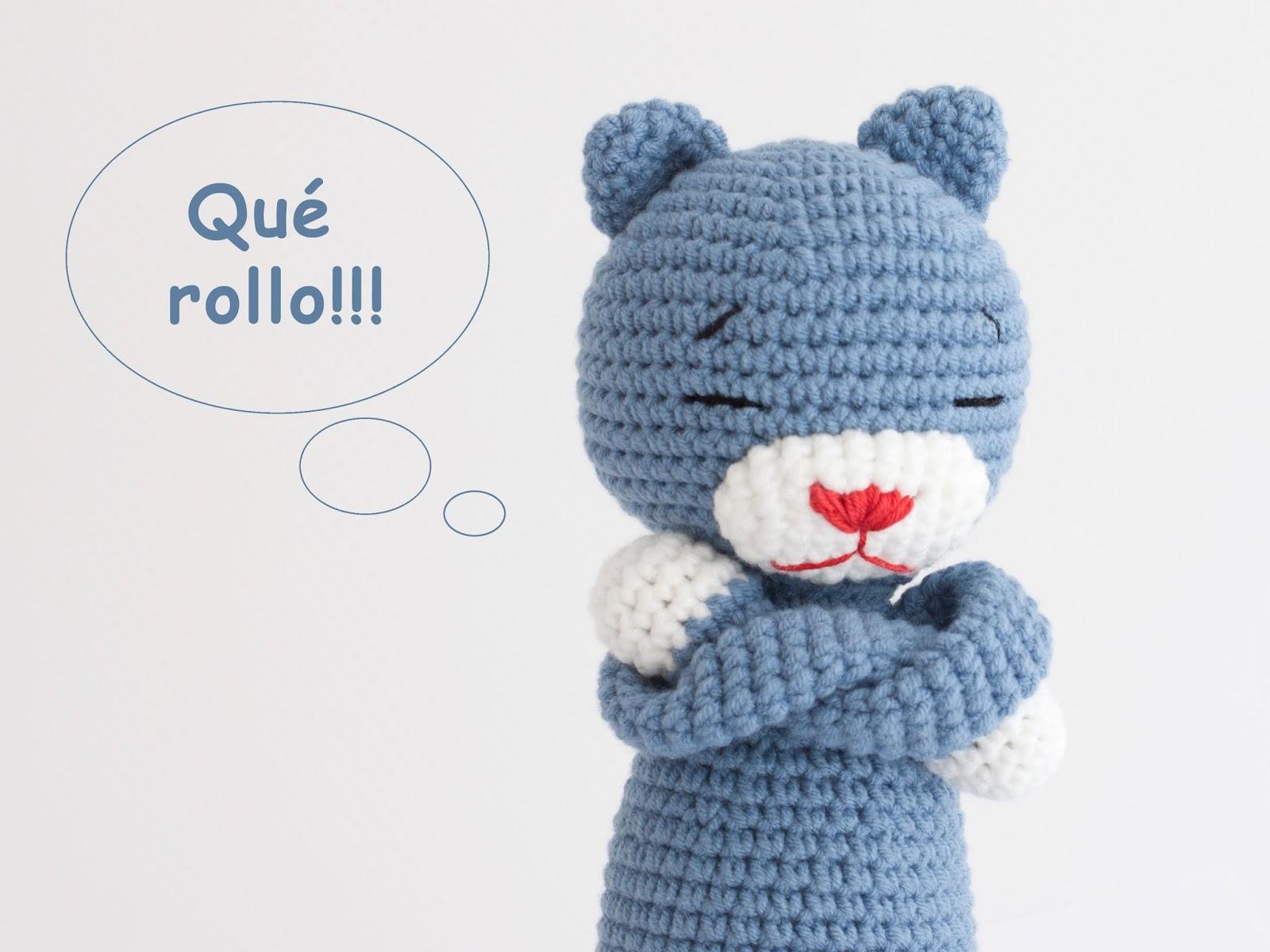 Famoso Ganchillo Hola Patrón Del Sombrero Gatito Adorno - Ideas de ...