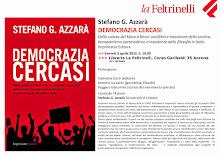 """Una presentazione di """"Democrazia Cercasi"""" ad Ancona"""