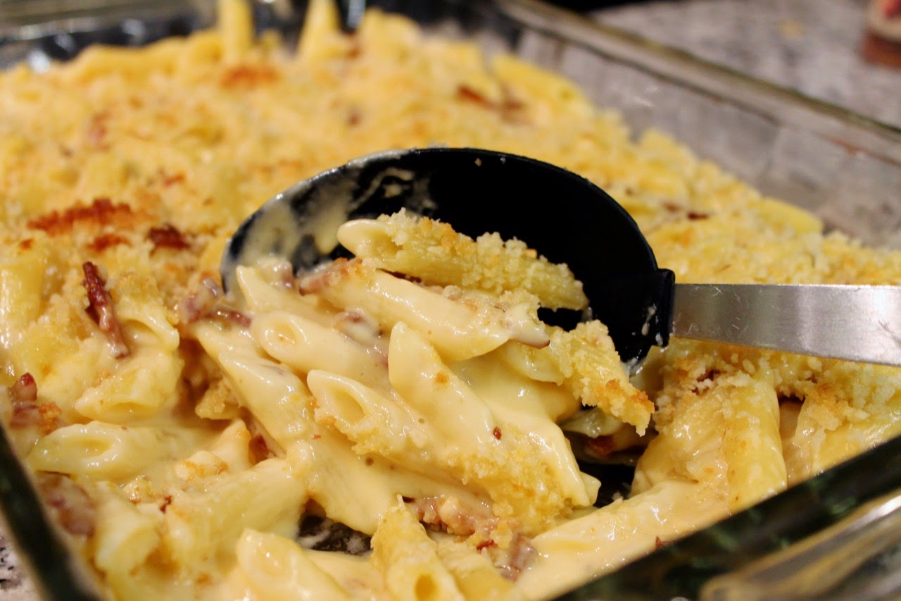 Smoky Bacon Macaroni & Cheese