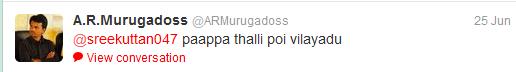 Maatran vs Thuppakki twitter