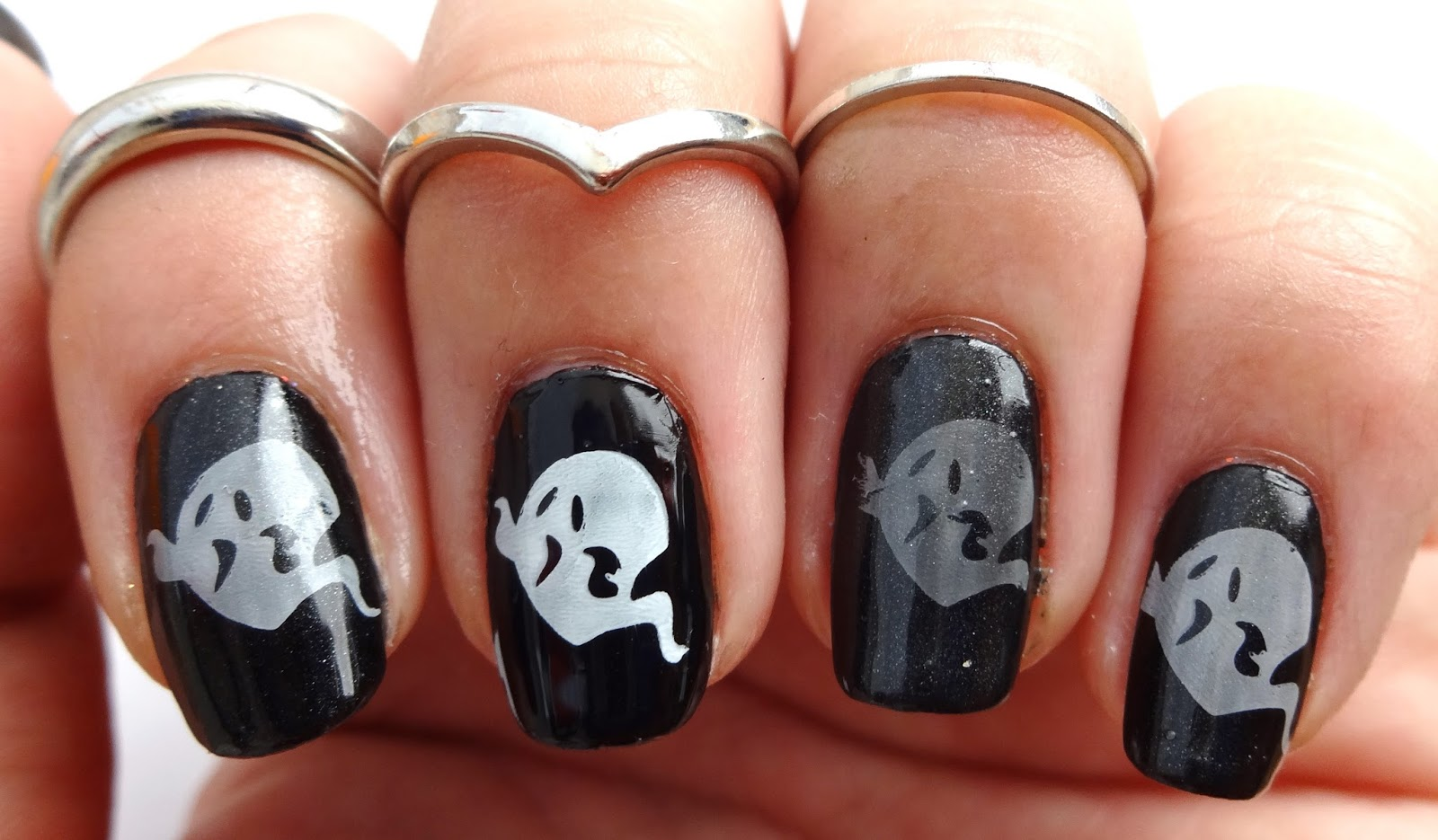 Ghosts with Sheer Polish