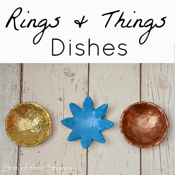 Tutorial how to make little dishes for rings and things