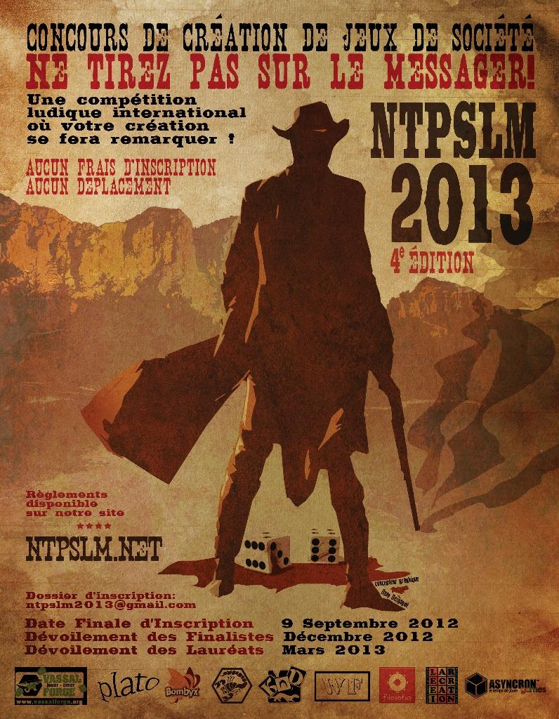 Complètement recalé à NTPSLM 2013...