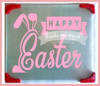 Happy Easter Cutting Board