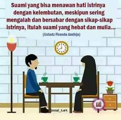Suami yang bisa menawan hati istrinya