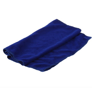 Softness Strength Microfiber Towel Car Cleaning Wash Clean Cloth 30 X 70 CM HS