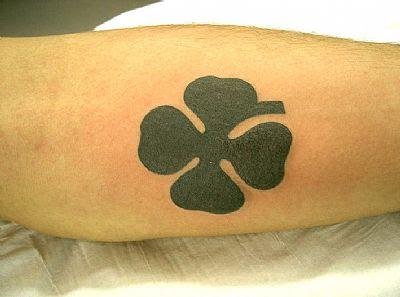 o que significa tatuagens de trevo