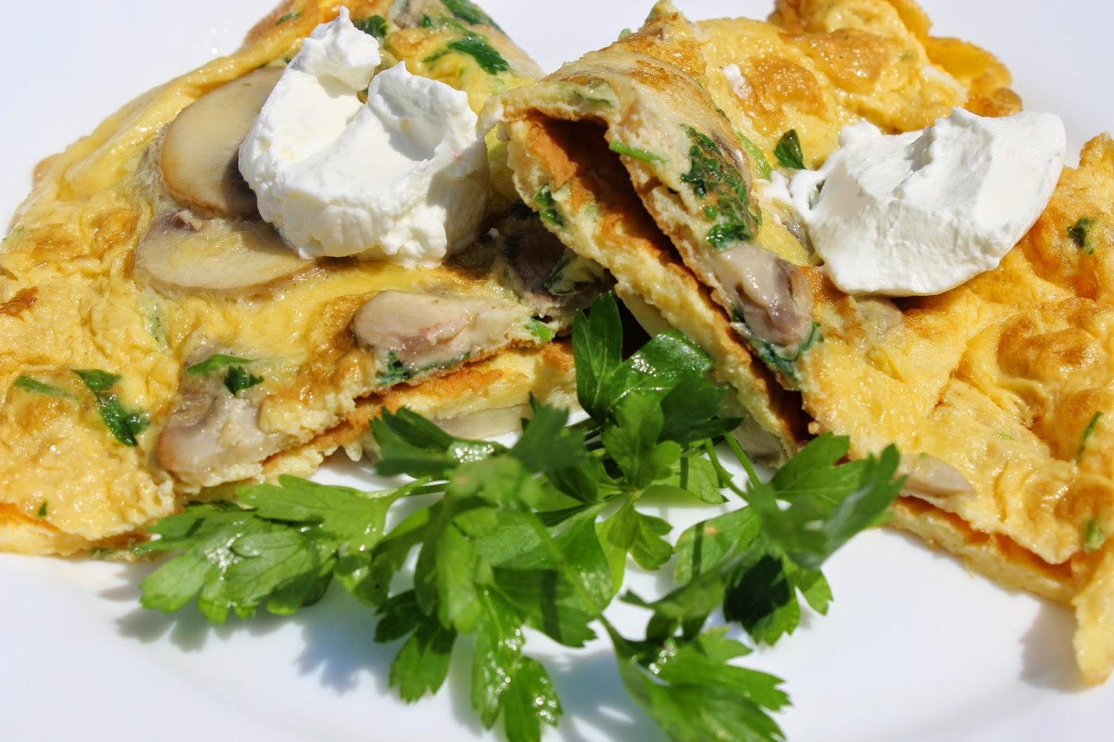 Omlet sa sampinjonima