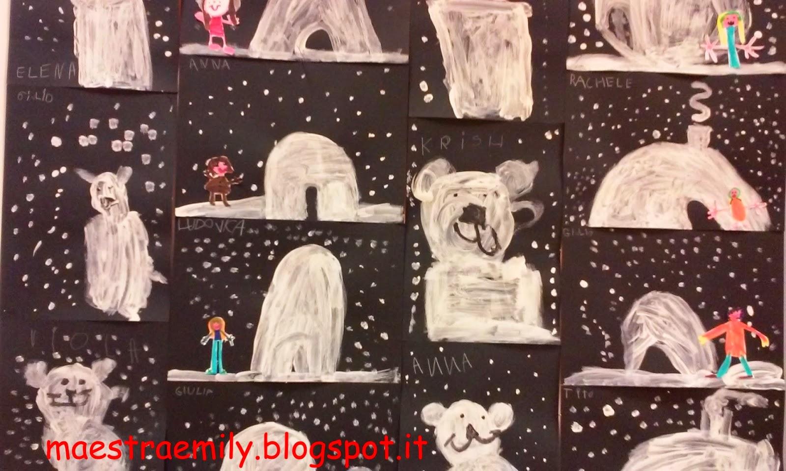 Maestraemily eschimesi e orsi polari si salvi chi puo 39 - Orsi polari pagine da colorare ...