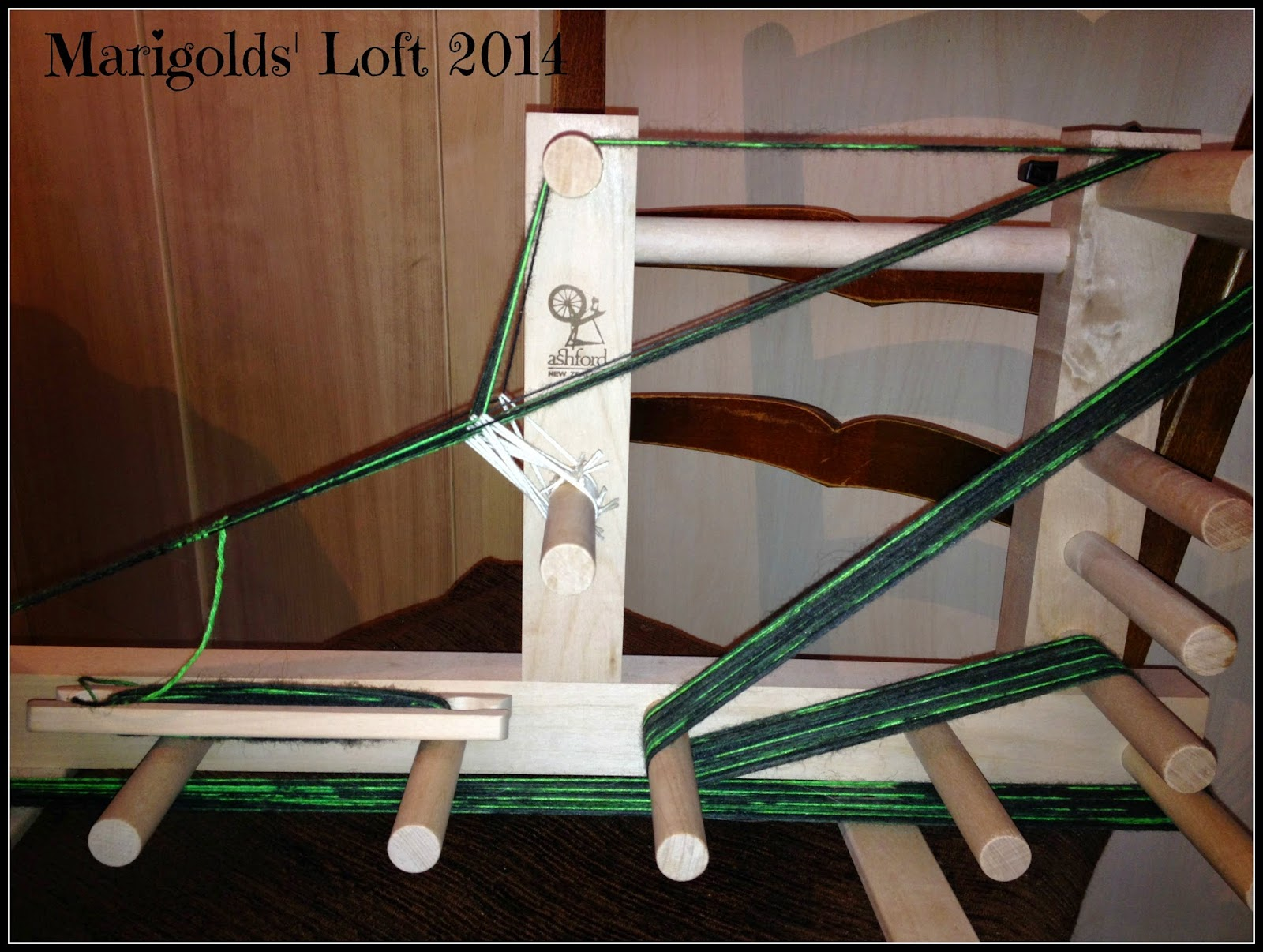 working on an inkle loom ashford