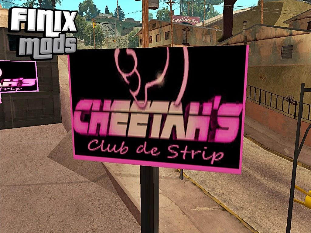 Clube De Stripers Cheetah
