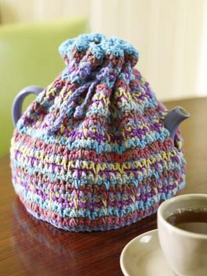 Vintage Crochet Tea Cosy Pattern Free Dancox For