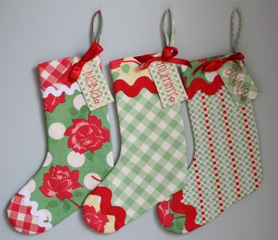 Quilted Christmas Stocking Pattern Free Free Quilt Patterns Free