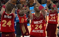 NBA 2K12 All Star Jersey 2012 Fix with Crowd Fixed