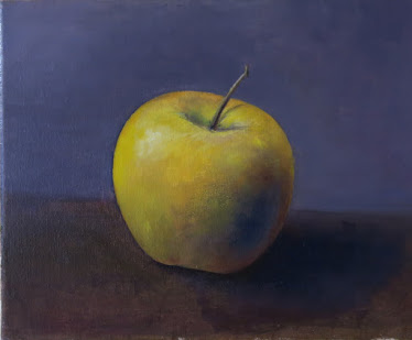 Una manzana Golden (3F)
