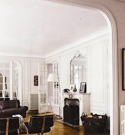 Cool Chic Style Attitude: Decor inspiration : Parisian Apartment