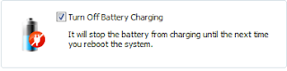 turn off battery