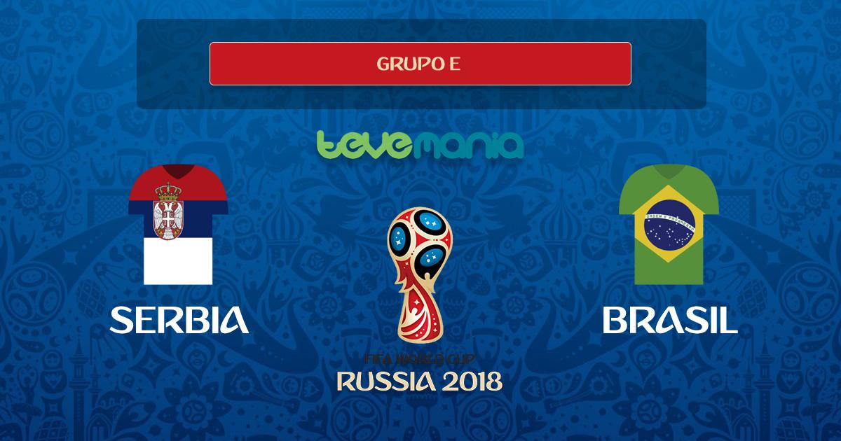 Brasil consolida su favoritismo y clasifica derrotando 2-0 a Serbia