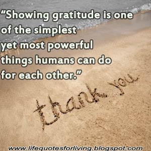 life quote gratitude