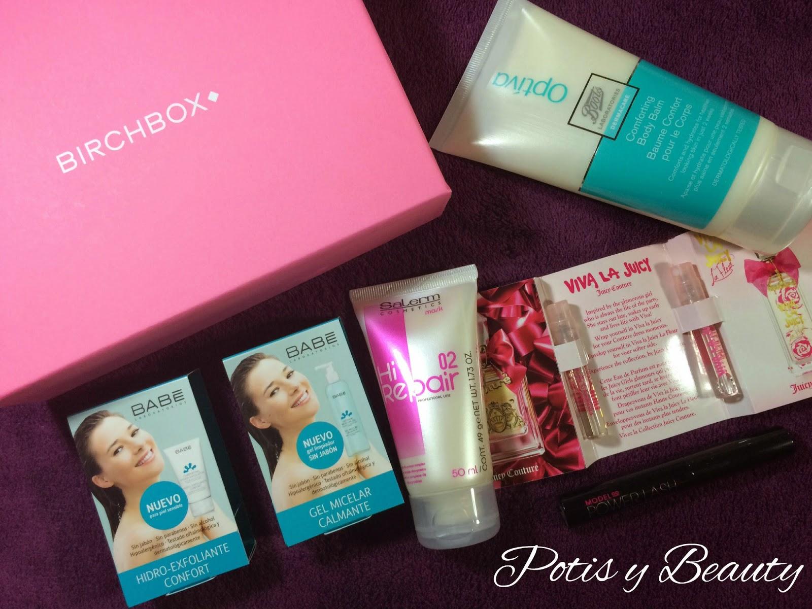 Birchbox octubre! Living Pink!