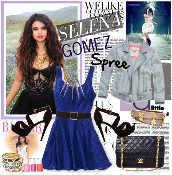selena gomez fashion look
