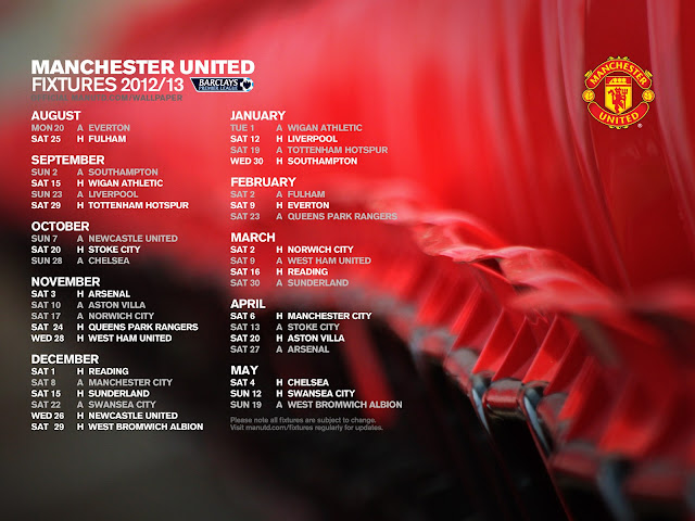 jadual penuh perlawanan manchester united man utd musim 2012 2013 epl liga perdana inggeris,english premier league manchester united fixtures schedules season 2012 2013,rumusan liga perdana musim 2011 2012,pemain baru manchester united musim 2012 2013,shinji kagawa profile,manchester united vs arsenal vs chelsea vs liverpool vs manchester city waktu malaysia,koleksi wallpaper background perlawanan manchester united jadual penuh