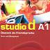 كتاب دروس وتمارين  لبدء تعلم اللغة الالمانية  لمستوى studio d A1