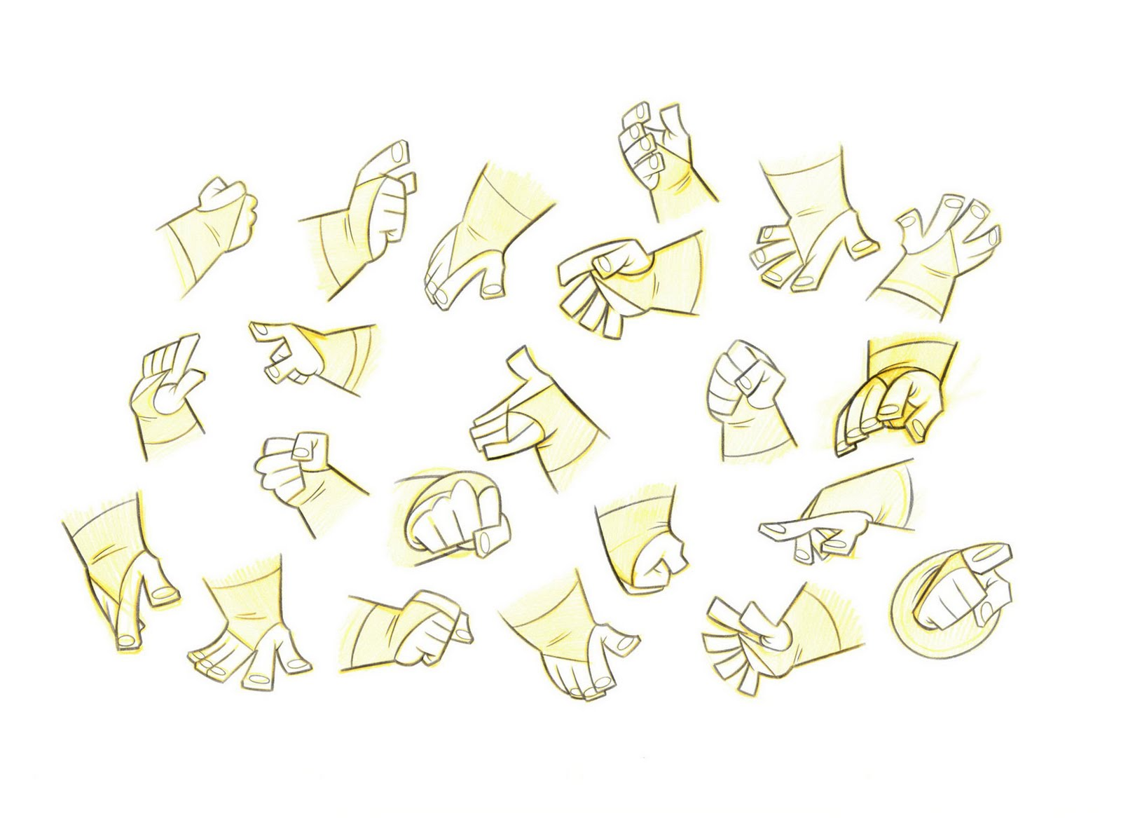 Character Design Hands : Living lines library legend of the boneknapper dragon