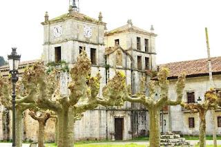 monasterio de Cornellana, fachada oeste