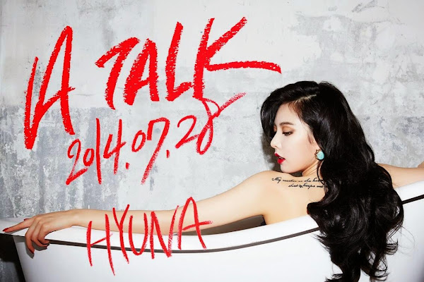 Hyuna A Talk Teaser