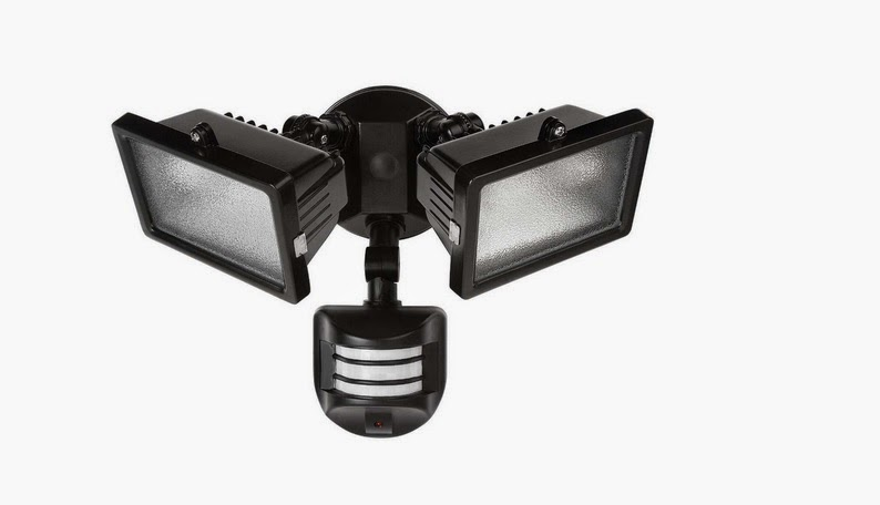 Spoze system solution introduces led motion sensor outdoor security twin lamp halogen outdoor security light aloadofball Choice Image