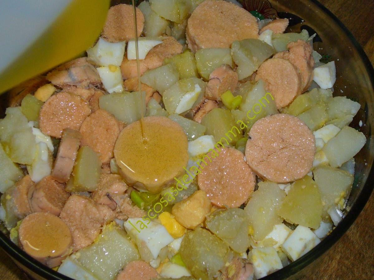 Las cosas de la mamma huevas y papas ali as estilo cadiz - Tiempo para cocer patatas ...