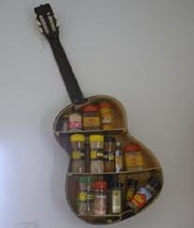 Ideas para Reciclar Guitarras