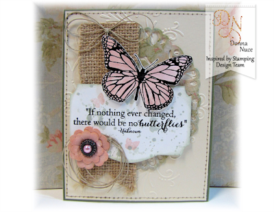 Inspired by Stamping, Crafty Colonel, Butterflies stamp set, General Card