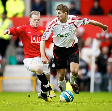 Football live online. Watch free in streaming. Best websites for football matches. Rooney Gerrard