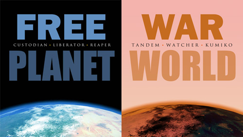 the Free Planet novel series